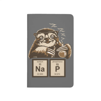 Chemistry sloth discovered nap journal