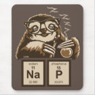 Chemistry sloth discovered nap mouse mat