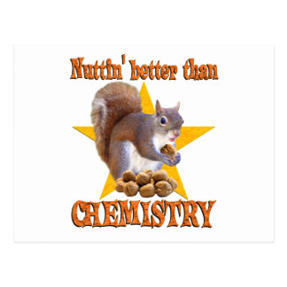 Chemistry Squirrel Postcards
