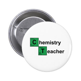 Chemistry Teacher black Button