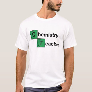 Chemistry Teacher black T-Shirt