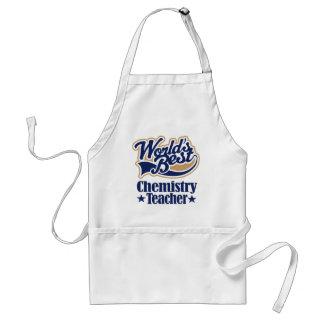 Chemistry Teacher Gift For (Worlds Best) Aprons