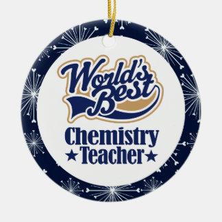 Chemistry Teacher Gift Ornament