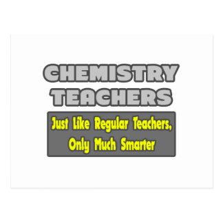 Chemistry Teachers Smarter Post Cards