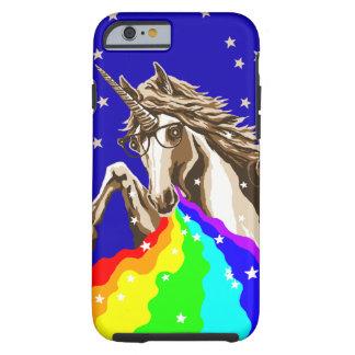Chemistry unicorn pukes rainbow tough iPhone 6 case