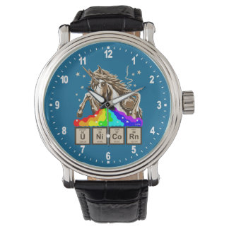Chemistry unicorn pukes rainbow watch