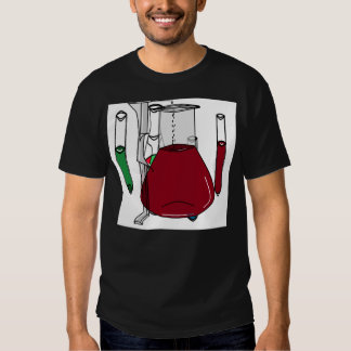 Chemists Chemistry Beakers Test Tubes Solutions 3 T-shirts