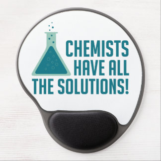 Chemists Have All The Solutions Gel Mouse Mat