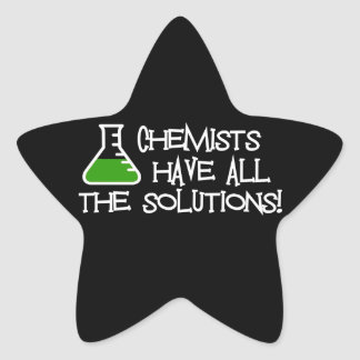 Chemists Have All The Solutions Stickers