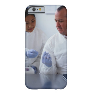 Chemists Looking at a Glass Slide Together Barely There iPhone 6 Case