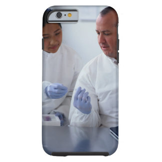 Chemists Looking at a Glass Slide Together Tough iPhone 6 Case