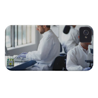 Chemists Working in a Laboratory iPhone 4 Case-Mate Case