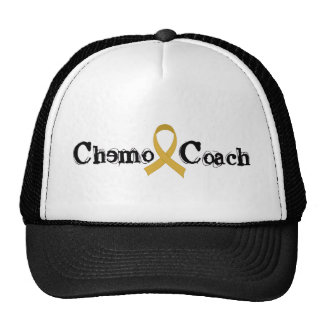 Chemo Coach - Childhood Cancer Gold Ribbon Cap