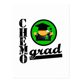 Chemo Grad Kidney Cancer Ribbon v2 Postcard