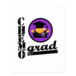 Chemo Grad Leiomyosarcoma Ribbon Postcard