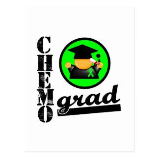 Chemo Grad Lymphoma Ribbon Postcard