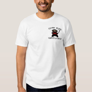 Chemo Ninja QR Code T Shirt