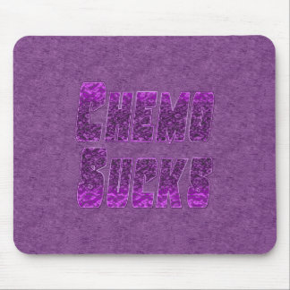 Chemo Sucks Chemotherapy Cancer Humor Mouse Pad
