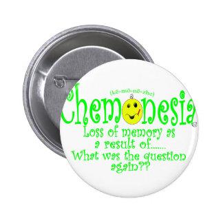 chemoNEON 6 Cm Round Badge