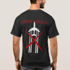 Chemtrails Are Wrong dark coloured tshirt
