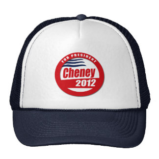 Cheney 2012 Button Mesh Hats