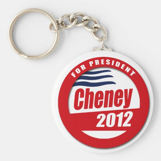 Cheney 2012 Button Keychains