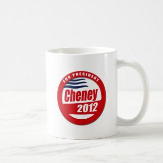 Cheney 2012 Button Mug