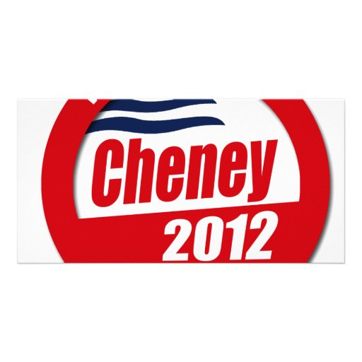 Cheney 2012 Button Picture Card
