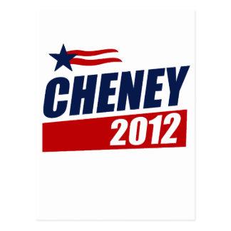 CHENEY 2012 POSTCARD