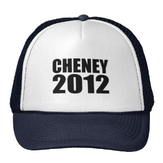 Cheney in 2012 hats