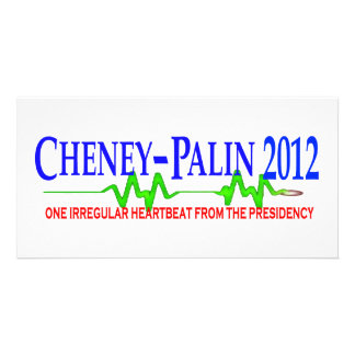Cheney Palin 2012 Custom Photo Card