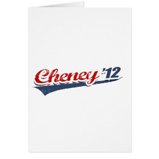 Cheney Team Greeting Cards