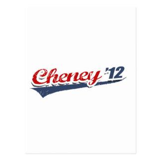Cheney Team Postcard
