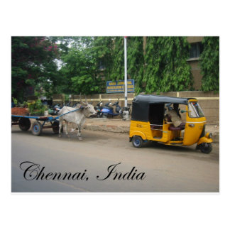Chennai, India Postcard