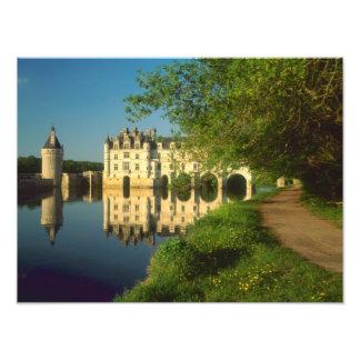 Chenonceau Chateau, Loire Valley, Photo Print