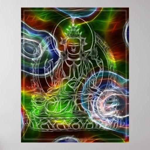 Chenrezig Energy Poster