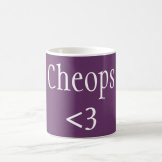 Cheops <3 coffee mug