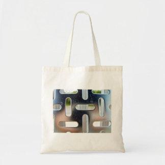 Chequer Plate-cut slots Bag