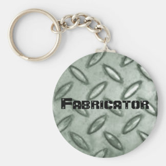 chequer-plate, Fabricator Key Ring