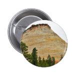 Chequerboard Mesa Zion Sandstone Badge