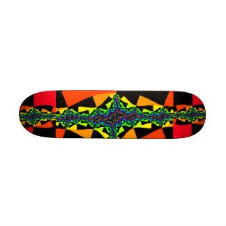 Chequerboard Quasar Skateboard