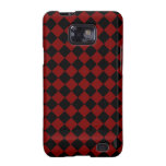 ChequerBoard (Red/Black) Galaxy Case