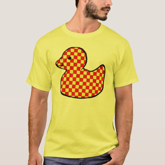 chequerboard rubber duck T-Shirt