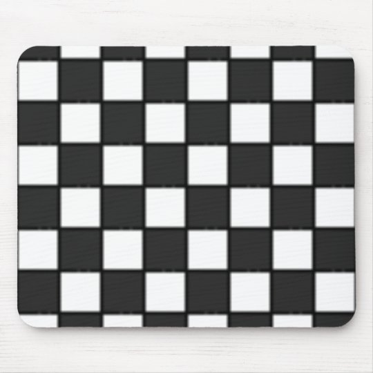 Chequered Board Mouse Pad