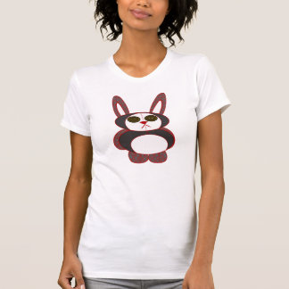chequered bunny T-Shirt
