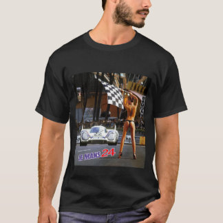 """Chequered Flag"" by Commissaire T-Shirt"