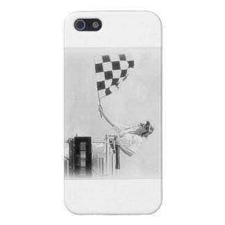 """Chequered Flag"" by Flagman iPhone 5 Cover"