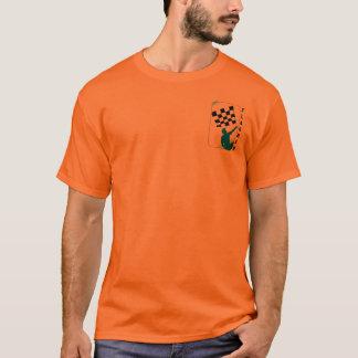 """Chequered Flag"" by Flagman T-Shirt"