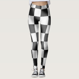 Chequered Flag Leggings