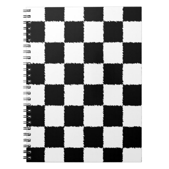 Chequered Flag Notebook